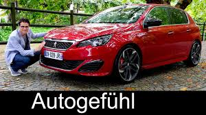 peugeot 308 gti 2016 peugeot 308 gti 270 hp full review test driven hatch new neu