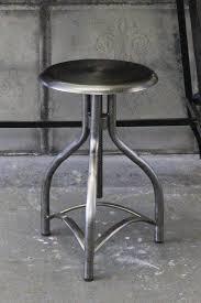 metal adjustable swivel bar stool