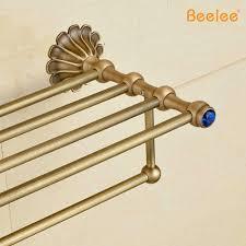 beelee bl6703a antique folding towel rack copper towel rack