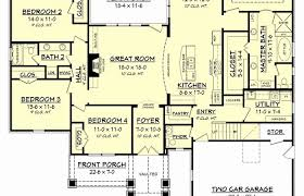 simple open house plans modern house plans plan with front porches open basement courtyard