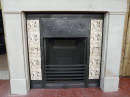 antique thomas jeckyll cast iron insert 024i 26 old fireplaces