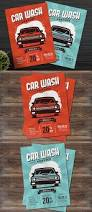 car wash service flyer template ai psd flyer templates