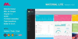 material lite u2013 mdl with angularjs admin dashboard free download