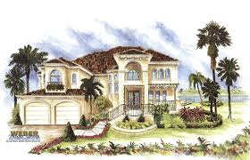 Spanish Mediterranean Homes Spanish House Plans Mediterranean Style Greatroom Courtyard