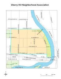 St Joseph River Map Cherry Hill Neighborhood Association Lansing Mi Neighborhoods