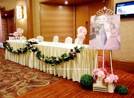 wedding backdrop kl garden theme wedding decoration at pullman klcc purple
