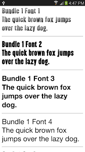 fonts for samsung 1000 android apps on google play