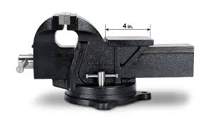 tekton 6 inch swivel bench vise 54006 pin vises amazon com