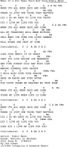 gospel song when it u0027s all been said and done robin mark lyrics
