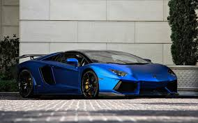 Lamborghini Aventador Chrome - lamborghini aventador blue