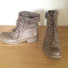light brown combat boots guess shoes light brown combat boots size 7 poshmark
