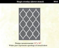 stencils for home decor stencil boss lattice morrocan pattern wall home decor tierra