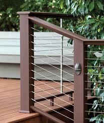 deck railing composite u0026 aluminum deck railing timbertech