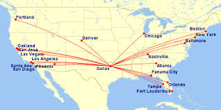 swa route map delta airlines the anglophile aviator in dallas