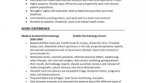 Medical Assistant Resume With No Experience Medical Assistant Resume Templates A Good Sample Opening Paragraph