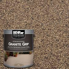 behr premium 1 gal gg 16 baltic stone decorative concrete floor