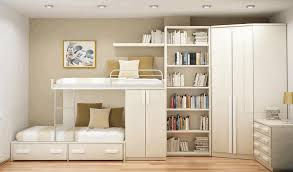 storage options for small bedrooms brick look wallpaper stainles