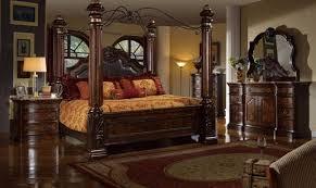 mcferran b6003 ck rich brown solid hardwood california king
