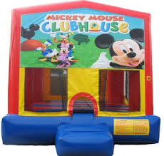 mickey mouse clubhouse bounce house mickey mouse club house module jump rental lodi ca mickey mouse