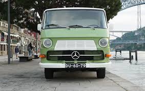 mercedes n a combi the n 1300 as a coffee truck