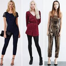 new years jumpsuit best party jumpsuits and playsuits for new year s popsugar