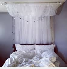 Sheer Bed Canopy Ikea Lill Curtains Sheer White 2 Panels 110x98 Bed Canopy Room