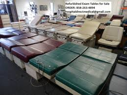 used medical exam tables hospital and medical equipment props for film tv and theater used