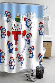 christmas sets 23 best christmas shower curtains sets images on