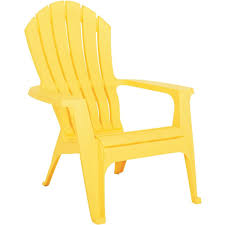 Yellow Patio Chairs Realcomfort Ergonomic Adirondack Chair 8371 19 4708 Do