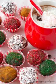 holiday party recipes tabasco chocolate truffles eazy peazy