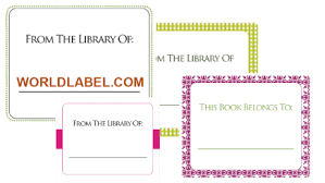 bookplate labels for free in printable templates worldlabel blog