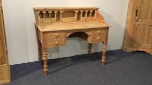Pine Secretary Desk by Reclaimed Pine Writing Desk Pinefinders Old Pine Furniture