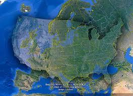 Map Size Comparison Usa Europe Size Comparison Imgur