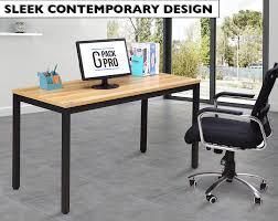 Table For Office Desk Office Desk 55 Light Walnut G Pack Pro