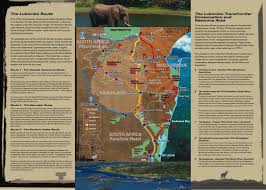 Swaziland Map Swaziland National Trust Commission Transfrontier Conservation Areas