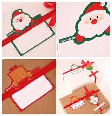 aliexpress buy 50pcs mini write card santa claus