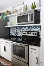 Kitchen Backsplash For Renters - kitchen diy 5 steps to kitchen backsplash no grout involved ideas
