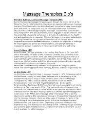 Massage Therapist Sample Resume by 59 Sample Massage Therapist Resume Sample Sql Dba Resume
