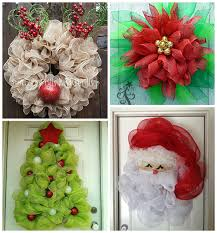 deco mesh ideas christmas deco mesh wreath ideas crafty morning