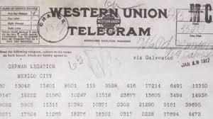 how do you send a telegram the secret history of the zimmermann telegram history in the