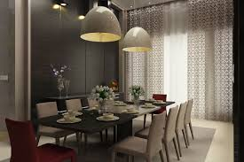 contemporary pendant lighting for dining room home design great