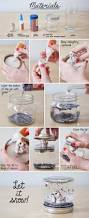 40 easy things to do with mason jars craft diy snow globe and xmas