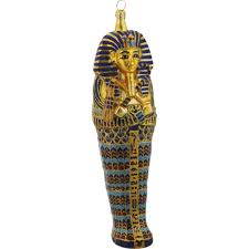 king tut s mummy handmade ornament