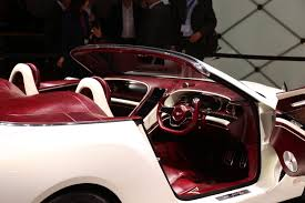 bentley exp 12 exp 12 speed 6e concept illustration du futur en direct du