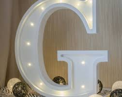 marquee letters etsy