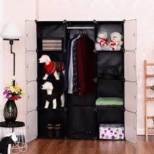 12 cubes portable closet storage organizer clothes wardrobe