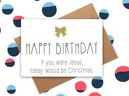 birthday card jesus birthday day