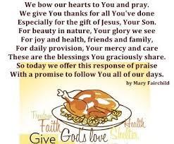 thanksgiving prayers travel thanksgiving blessings