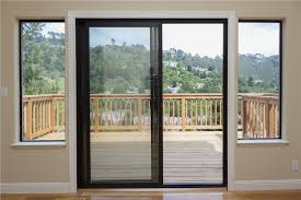 Patio Doors Installation Cost How To Install A Sliding Patio Door In Brick Wall Installation