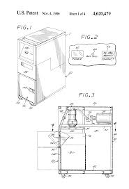 patent us4620479 aircraft trash compactor and box therefor
